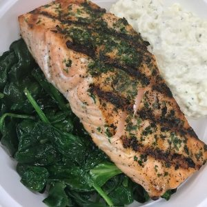 Healthy Meals Salmon Dish