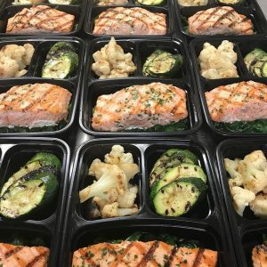 Health Meals Salmons ready for pick up