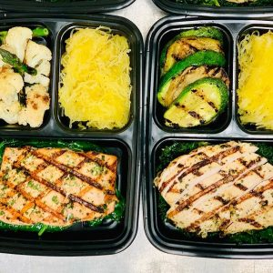 Healthy Meals Salmon & Chicken